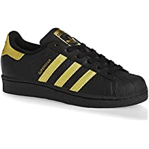 adidas superstar nere dorate