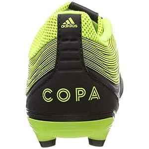 adidas Copa 19.3 FG, Zapatillas de Fútbol para Hombre, Negro (Core Black/Solar Yellow/Core Black Core Black/Solar Yellow/Core Black), 40 EU
