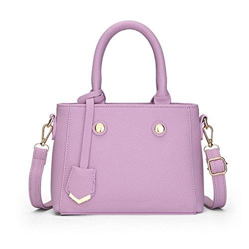 Eysee, Borsa tote donna nero Beige 23cm*16.5cm* 9.5cm Purple