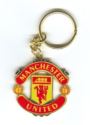official-manchester-united-crest-shaped-keyring