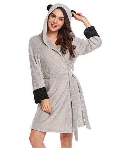 Nachtwäsche Frauen Lang Mantel Homewear Cosplay Party Flanell