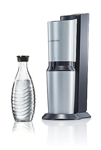 SodaStream Wassersprudler Crystal Umsteiger-Set (1 x 0,6L Glaskaraffe, ohne CO2-Zylinder!),