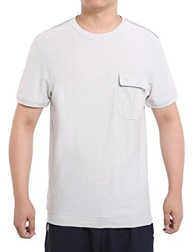 Reach Herren T-Shirts Kurzarm Baumwoll Coole Sommer Tshirt(L-4XL)