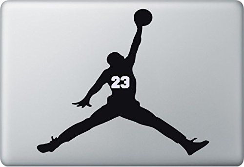 StickerMarket Basketball kompatibel mit/Ersatz für Apple MacBook Air Pro Aufkleber Sticker Skin Decal
