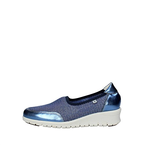 Cinzia Soft 9827 Sneakers Donna Pelle/nylon BLU BLU 38