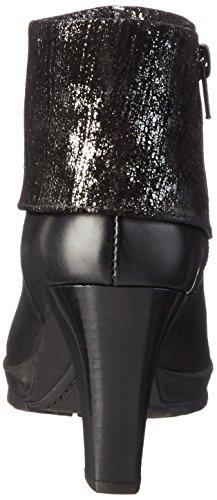 Tamaris 25460, Bottes Classiques Femme Noir (Black Metallic 033)