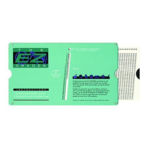ADVANTUS E-Z Grader Chart, 81/2 x 43/4 x 1/2 Inches (5703) by Advantus Corp.