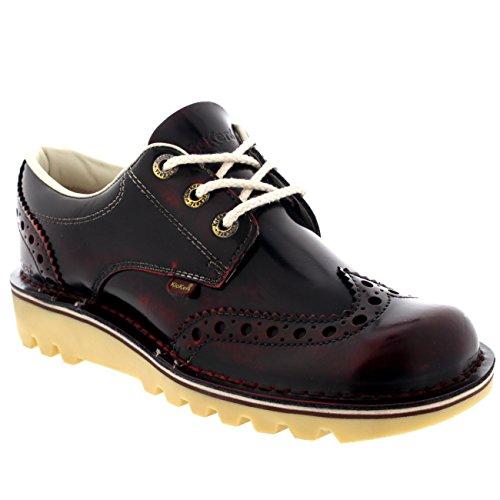 Kickers Cheville Chaussures Travail Noir Suède Legendry Haute Lacer TAXgwIq8wx