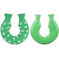 U-förmige Wärmflasche Green Knit Cover 1,4 Liter preisvergleich bei billige-tabletten.eu
