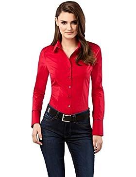 Vincenzo Boretti Camisa Mujer  Rojo ES 38 (DE 36)