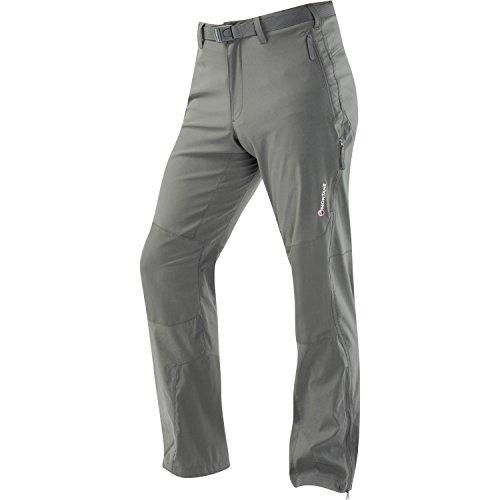 MONTANE Pantalon Stretch Homme Terra, Vert, XL