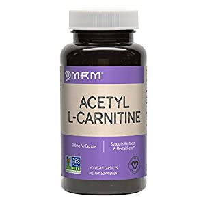 41ujsQQJGRL. SS300  - MRM Acetyl L-Carnitine, 500mg, 60 Vegan Capsules