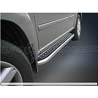 Greggson Nissan Pasos laterales de acero inoxidable para Nissan XTrail