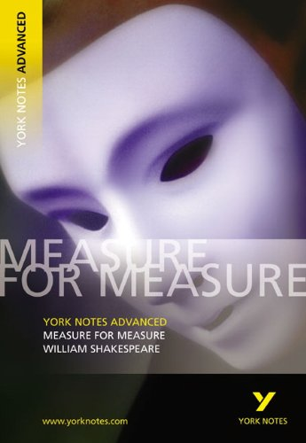 Measure for Measure (York Notes Advanced series)