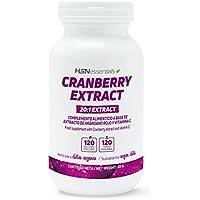 HSN Essentials - Arándono Rojo - Cranberry - Extracto con 10% Proantocianidinas - 500mg -