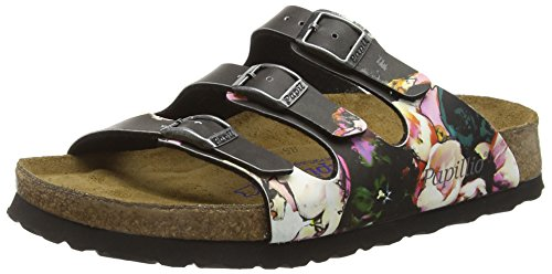 birkenstock-damen-florida-birko-flor-softfootbed-pantoletten-mehrfarbig-painted-bloom-black-40-eu