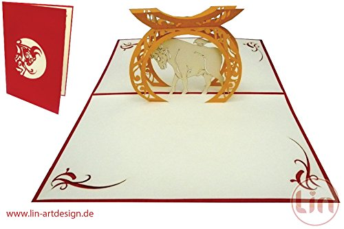 lin-pop-up-3d-greeting-card-with-zodiac-sign-taurus-handmade