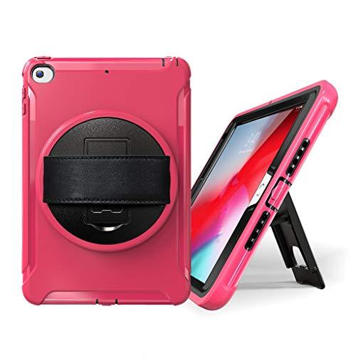 Mini 5 / Mini 4, 7.9inch 2019 Tablet case schlank Stehen robuste Harte abdeckungLeichtes Gewicht Schock Beweis Griff Freundlich Cabrio Stand Fall für iPad Mini (Hot Pink) ()