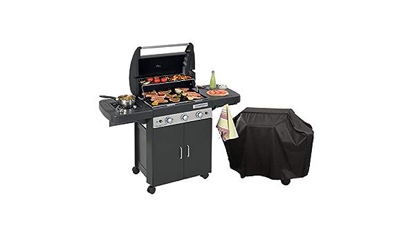 Barbecue gaz grill et plancha CAMPINGAZ LS DARK 3 Classic