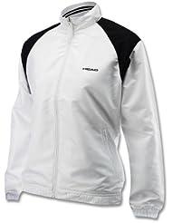 HEAD buste vêtements woman cooper club all season veste blanc 814193 whbk-taille xS