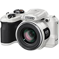 Fujifilm S8650 Bridge Digital Camera - White