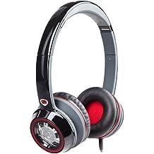 Monster N-Tune - Auriculares de diadema abiertos, negro, rojo