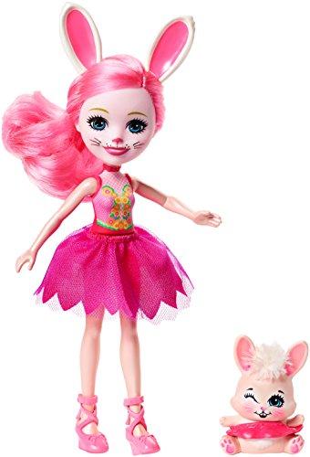 Enchantimals -  Pack de 3 muñecas con mascotas y accesorios de ballet (Mattel FRH85)