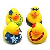 Luau Rubber Duckies : Package Of 12