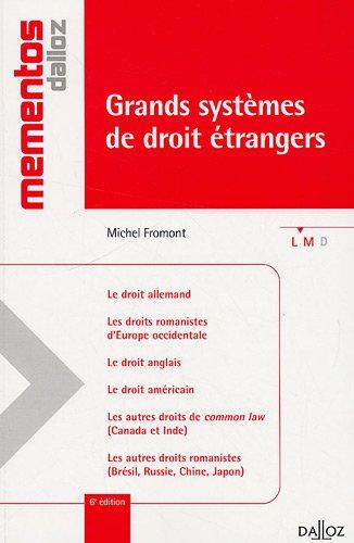 Grands systèmes de droit étrangers