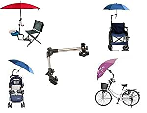 ll golf porte parapluie pour v lo fauteuil roulant d ambulateur poussette p che chariot golf. Black Bedroom Furniture Sets. Home Design Ideas