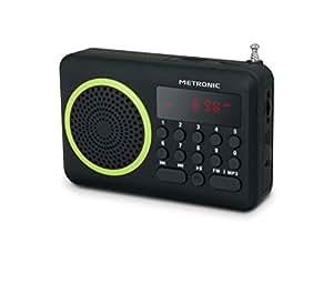 Metronic 477202 Radio/Radio-réveil MP3 Port USB