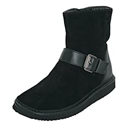 La Briza Women 5700 Black Synthetic Boots 5 UK