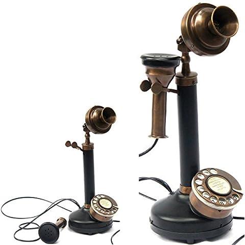 objets de collection acheter authentique Modèle Bougie téléphone Noir