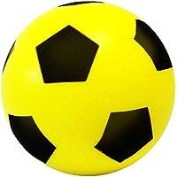 Balón de fútbol (espuma, talla 5), color .E-Deals 20cm Yellow, tamaño Pack of 1.