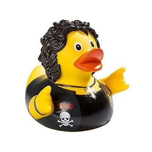 Quietsche-Ente Quietscheente Badeente Bath Duck Heavy Metal
