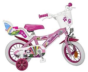 TOIMSA - Bicicleta de 12 Pulgadas, Modelo Fantasy 3-5 años, 12008