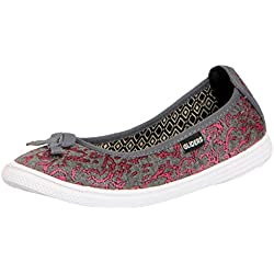 Gliders (From Liberty) Women's Alysha-1 Pink Ballet Flats - 7 UK/India (41 EU)