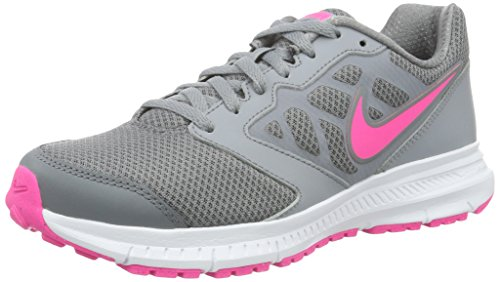 Nike Wmns Downshifter 6, Scarpe da Ginnastica Donna Multicolore (Stealth/Pink Blast-Cool Grey-White)