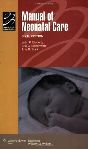 Portada del libro Manual of Neonatal Care (Spiral Manual) (Spiral Manual Series) by John P. Cloherty (2007-09-01)