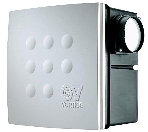 Vortice 12065centrífugo Ventilador de baño Empotrado con Control de Humedad Quadro Micro...