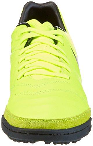 Nike Tiempox Mystic V Tf, Chaussures de Football Homme Jaune (Volt Gelb/schwarz/weiß)