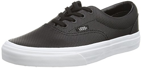Vans Era, Low-Top Sneakers mixte adulte Black (Perf Leather - Black)