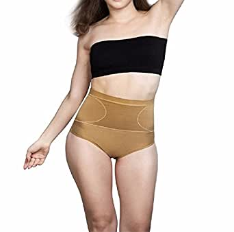 Body Brace Women's Cotton Tummy Shaper Panty (Small)