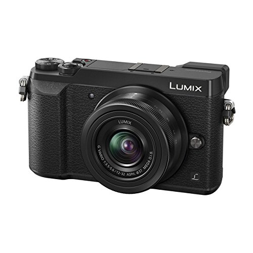 Panasonic Lumix DMC-GX80 - Cámara Digital de 16 MP (Pantalla de 3', 4K, Lumix G Vario de 12-32 mm F3.5-5.6 Mega OIS), Color Negro