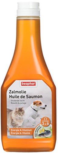 Beaphar-Olio di Salmone, Integratore Alimentare-Cane E Gatto