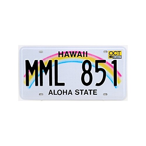 Placa-de-matrcula-de-Estados-unidos-modelo-HAWAII-Aloha-State