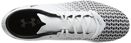 Under Armour Ua Cf Force 3.0 Fg, Chaussures de Football Homme Blanc (100)