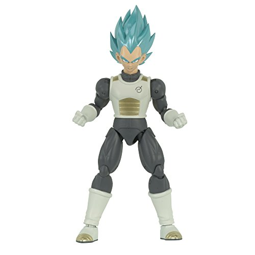 Dragon Ball - Figura Deluxe Super Saiyan Blue Vegeta (Bandai 35865)