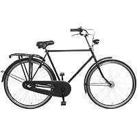 """TULIPBIKES, le vélo Hollandais original et unique """"Tulip 3"""", noir mat, 3 vitesses Shimano, hauteur de cadre 57cm"""