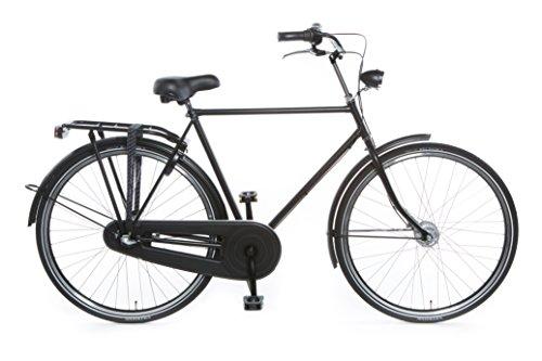 TULIPBIKES, le vélo Hollandais original et unique 'Tulip 3', noir mat, 3 vitesses Shimano, hauteur...